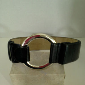 "Chicos womens belt Size S/M up to 40"" Black 2"""